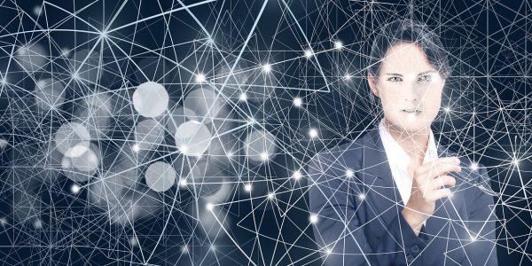 digitization, transformation, businesswoman