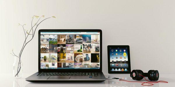 laptop, workstation, browsing