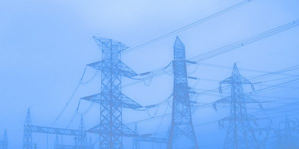 pylons, utility poles, electricity