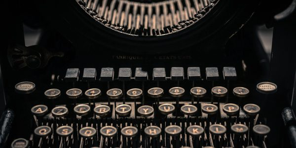 vintage, typewriter, letters
